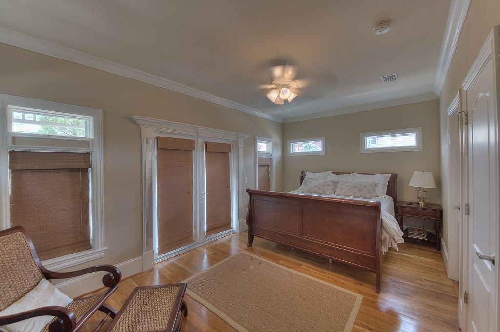 One of Two Second Floor Master Suites With King Bed